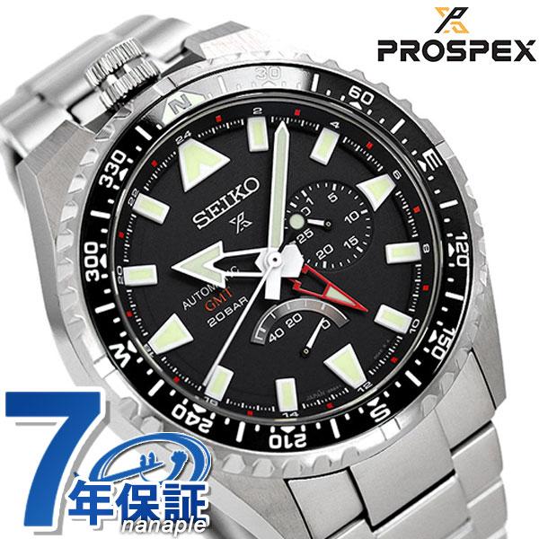 【ツナ缶サコッシュ付き♪】セイコー プロスペックス ランドマスター 自動巻き SBEJ001 SEIKO メンズ 腕時計 チタン ブラック 時計【あす楽対応】