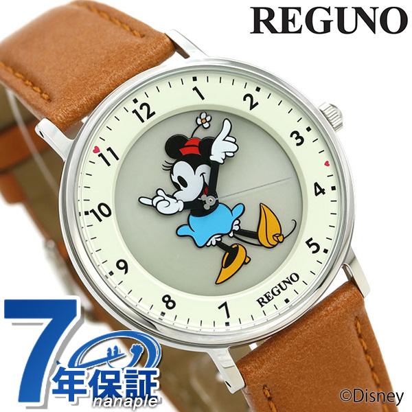 シチズン レグノ Disneyコレクション ミニーマウス KP3-112-12 CITIZEN ディズニー メンズ レディース 腕時計 革ベルト 時計【あす楽対応】
