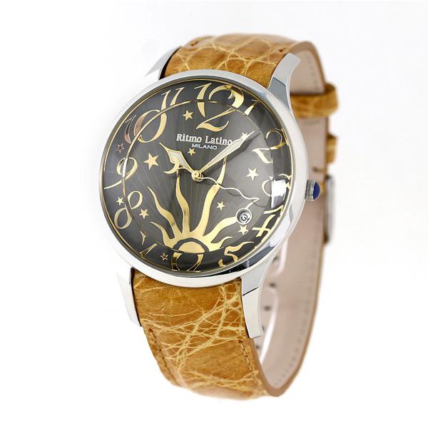 50810ba755f リトモラティーノ フィーノ 43mm メンズ 腕時計 F-12SL Ritmo Latino 時計-メンズ腕時計