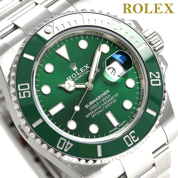 official photos ee040 cf526 ロレックス サブマリーナ デイト 40 メンズ 腕時計 116610LV ROLEX グリーン 新品 時計【あす楽対応】|腕時計のななぷれ