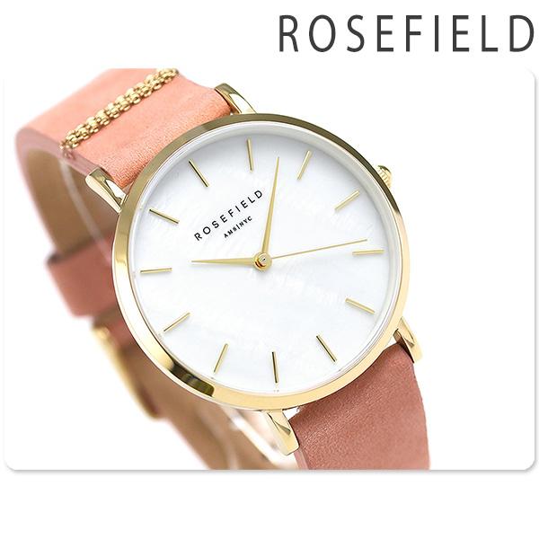 best website 0ef8a c562b 当店なら!さらにポイント+4倍!24日23時59分まで ROSEFIELD ローズフィールド ウエストビレッジ 33mm レディース 腕時計  Westvillage 革ベルト 時計|腕時計のななぷれ