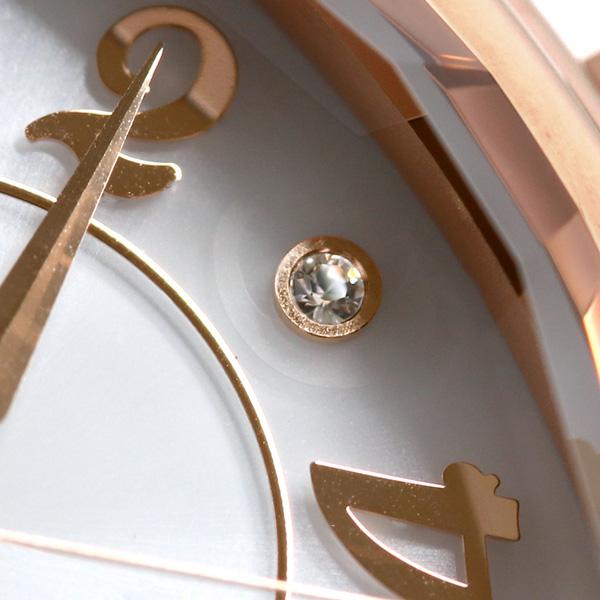 ルビンローザ Rubin Rosa トノー ソーラー レディース 腕時計 R018SOLPGW R018シリーズ ホワイト×グレED2WIH9