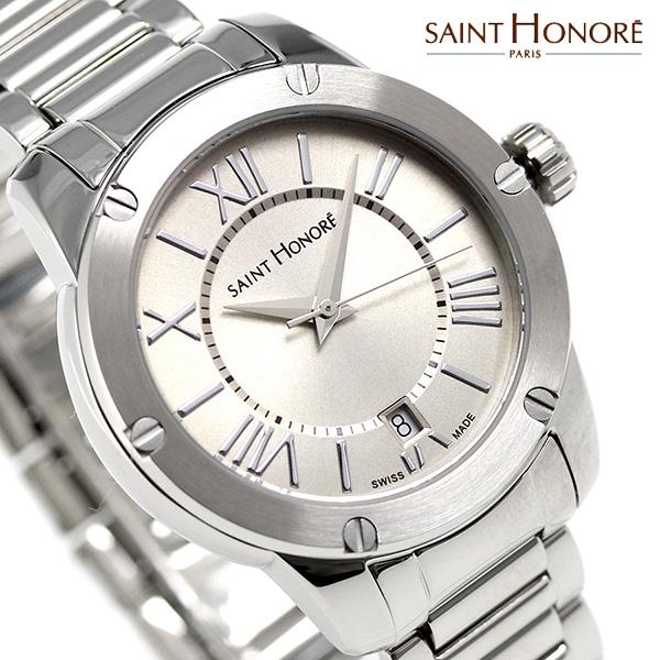 サントノーレ アートコード レディース 35mm スイス製 SN7511301LGRN SAINT HONORE 腕時計 時計