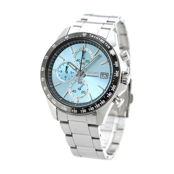 7e4ea3cc6b セイコー SEIKO メンズ 腕時計 クロノグラフ 8Tクロノ ブルー SBTR029 セイコーセレクション 時計