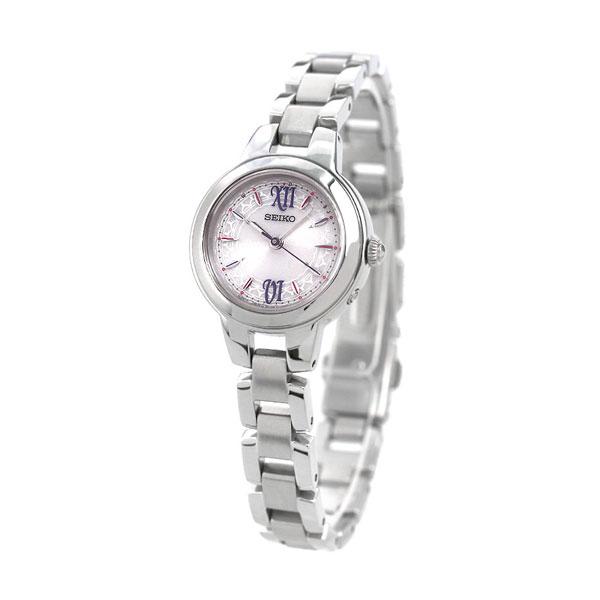 uk availability be157 dadaf セイコー SEIKO レディース 腕時計 電波ソーラー シンプル ピンク SWFH101 セイコーセレクション 時計|腕時計のななぷれ