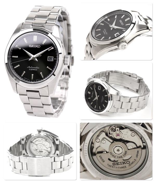 精工機械人機械式手錶黑色SARB033 SEIKO Mechanical