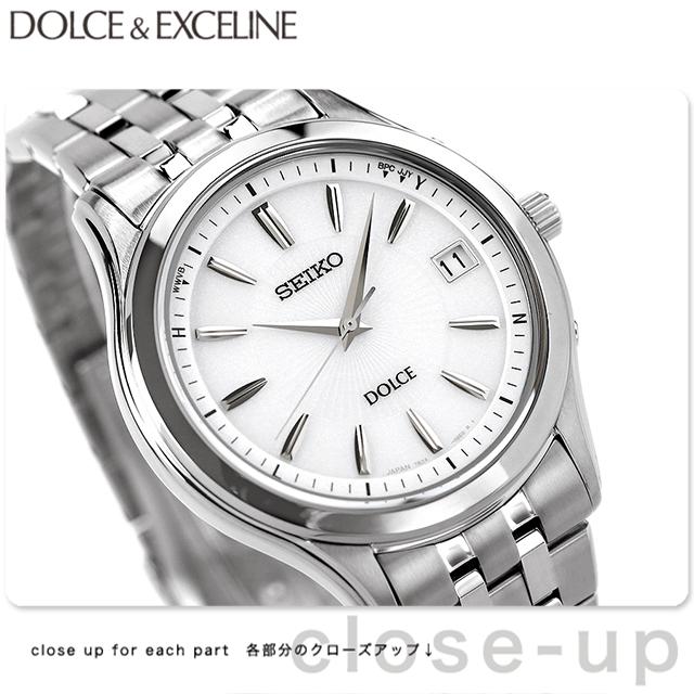 セイコー ドルチェ 電波ソーラー メンズ SADZ123 SEIKO DOLCE&EXCELINE 腕時計 シルバー 時計【あす楽対応】