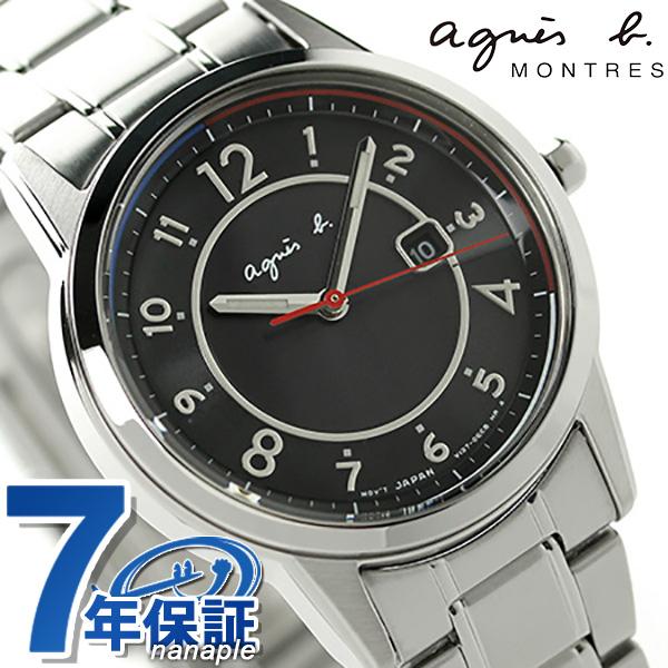 アニエスベー 時計 マルセイユ ソーラー FBSD959 agnes b. ブラック アニエス・ベー 腕時計【あす楽対応】