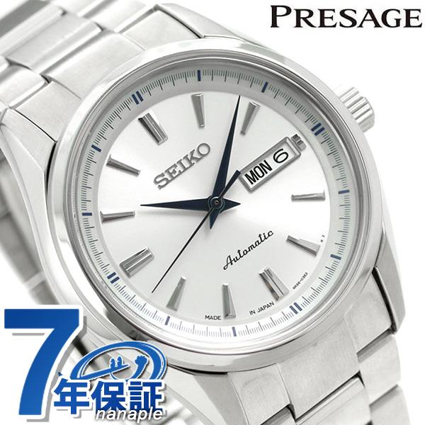 【クオカード付き♪】セイコー メンズ メカニカル プレザージュ SARY055 SEIKO Mechanical 腕時計 シルバー 時計【あす楽対応】
