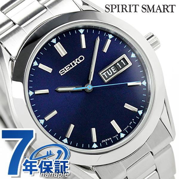 セイコー スピリット スマート 限定モデル メンズ 腕時計 SCEC015 SEIKO SPIRIT SMART クオーツ ネイビー 時計【あす楽対応】