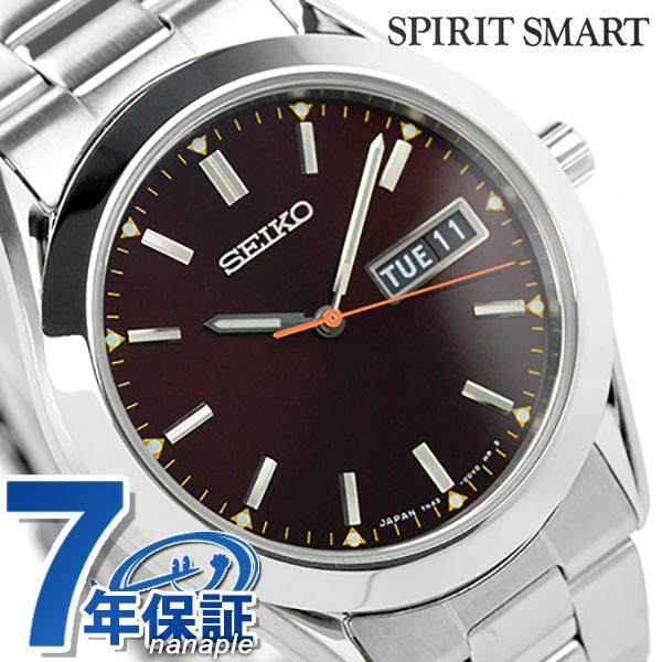 セイコー スピリット スマート 限定モデル メンズ 腕時計 SCEC017 SEIKO SPIRIT SMART クオーツ ブラウン 時計【あす楽対応】