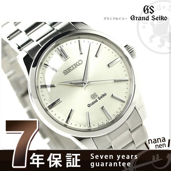 SBGX119 ground SEIKO 9F quartz classical music men watch GRAND SEIKO silver