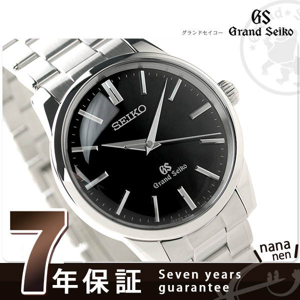 SBGX121 ground SEIKO 9F quartz classical music men watch GRAND SEIKO black