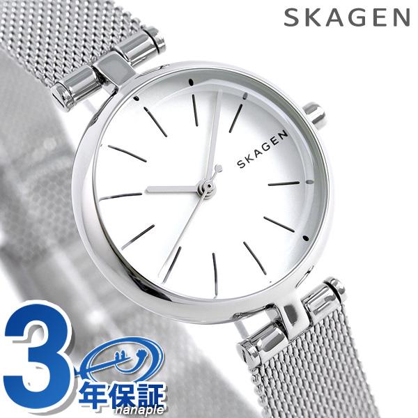 スカーゲン シグネチャー 26mm レディース 腕時計 SKW2642 SKAGEN シルバー 時計【あす楽対応】