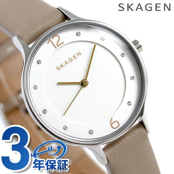 スカーゲン レディース ア二タ 30mm クオーツ 腕時計 SKW2648 SKAGEN シルバー 時計【あす楽対応】