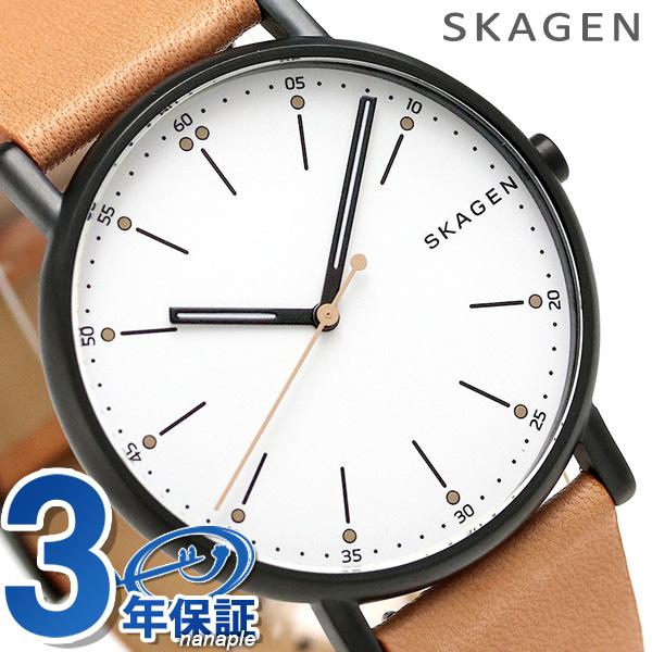 スカーゲン 時計 メンズ シグネチャー 40mm クオーツ SKW6352 SKAGEN 腕時計【あす楽対応】