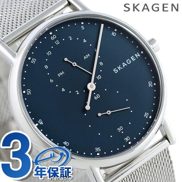 スカーゲン 時計 メンズ シグネチャー 40mm スモールセコンド SKW6389 SKAGEN 腕時計【あす楽対応】