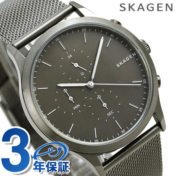 スカーゲン 時計 ヨーン クロノグラフ メンズ SKW6476 グレー×ガンメタルSKAGEN 腕時計【あす楽対応】
