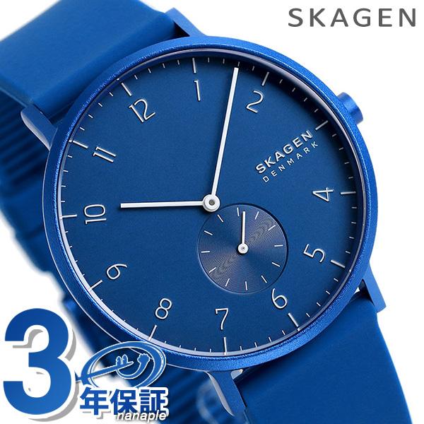 スカーゲン メンズ 腕時計 ブルー SKW6508 SKAGEN アーレン 41mm 時計【あす楽対応】