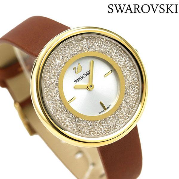 スワロフスキー レディース 腕時計 スイス製 ジュエリー アクセサリー 5275040 SWAROVSKI クリスタルラインピュア 時計【あす楽対応】