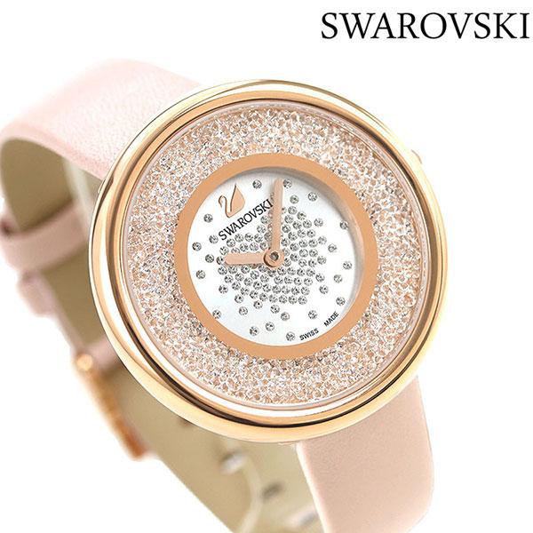 スワロフスキー レディース 腕時計 スイス製 ジュエリー アクセサリー 5376086 SWAROVSKI クリスタルラインピュア 時計【あす楽対応】