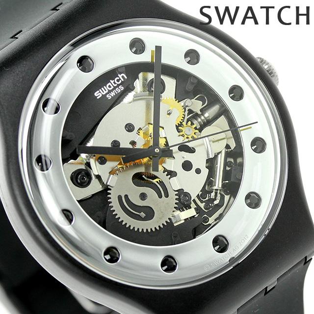スウォッチ SWATCH 腕時計 スイス製 オリジナル ニュー ジェント シルバー・グラム SUOZ147 時計【あす楽対応】, 和泉市:b4685f68 --- moguho.jp