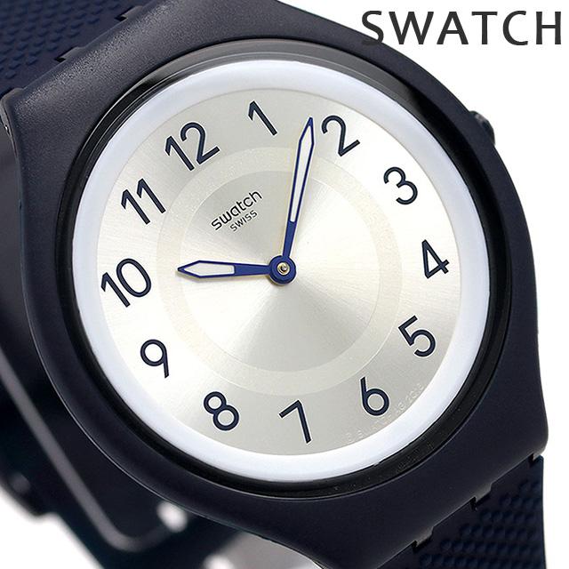 スウォッチ SWATCH 腕時計 スイス製 スキン ビッグ 40mm 薄型 SVUN101 時計【あす楽対応】