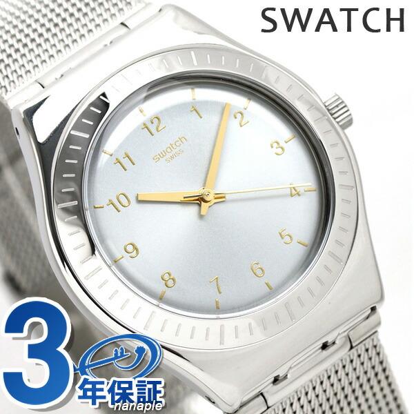 スウォッチ SWATCH 腕時計 スイス製 アイロニー ミディアム 33mm YLS187M 時計【あす楽対応】