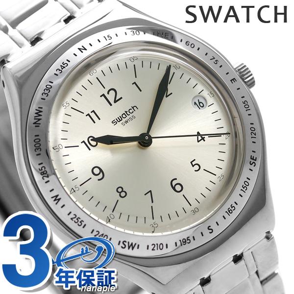 スウォッチ SWATCH アイロニー ビッグ メンズ 腕時計 YGS471G シルバー 時計【あす楽対応】