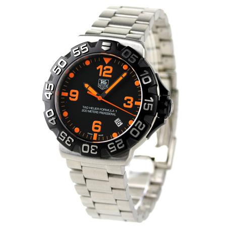 タグホイヤーフォーミュラー 1 men's watch WAH1116.BA0858 TAG Heuer black new article