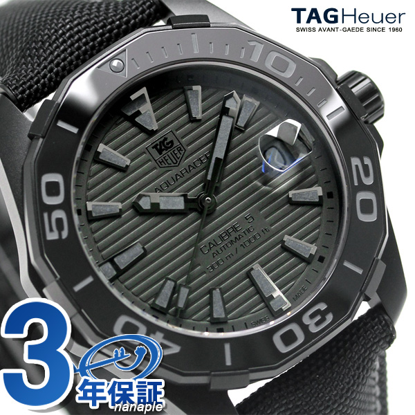 タグホイヤーアクアレーサー 300M-limited model self-winding watch WAY218B.FC6364 TAG Heuer watch new article