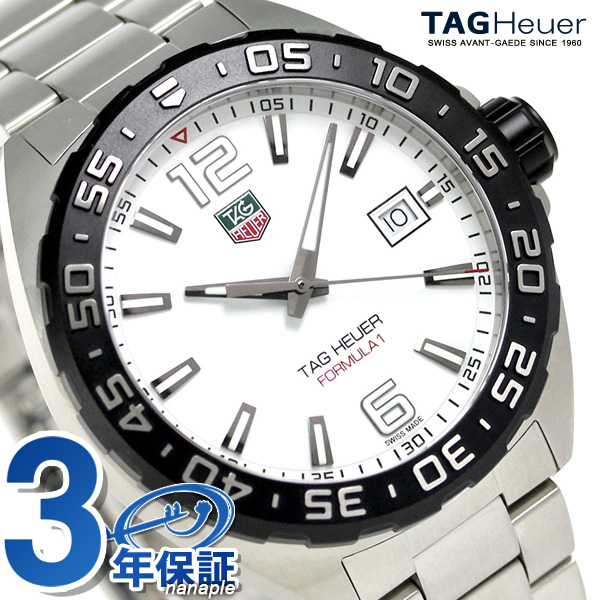 8cceee9be846 nanaple  タグホイヤーフォーミュラ 1 200M quartz men watch WAZ1111.BA0875 TAG Heuer new  article