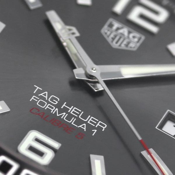 taguhoiyafomyura 1 200M自动卷人WAZ2011.BA0842 TAG Heuer手表灰色银子