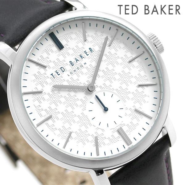 テッドベーカー メンズ 腕時計 スモールセコンド 革ベルト TE15193007 TED BAKER トレント 43mm 時計【あす楽対応】