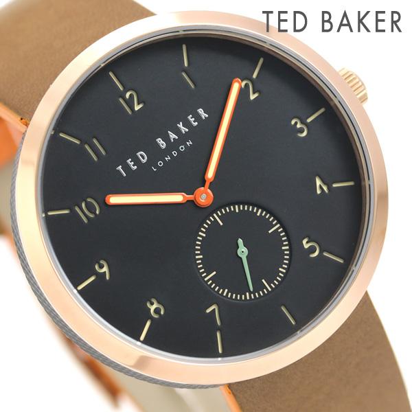 テッドベーカー メンズ 腕時計 スモールセコンド 革ベルト TE50011006 TED BAKER ジョシュ 42mm 時計【あす楽対応】