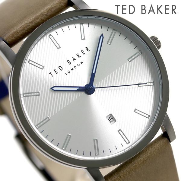 店内ポイント最大43倍!16日1時59分まで! テッドベーカー メンズ 腕時計 カレンダー 革ベルト TE50012003 TED BAKER ディーン 40mm 時計【あす楽対応】
