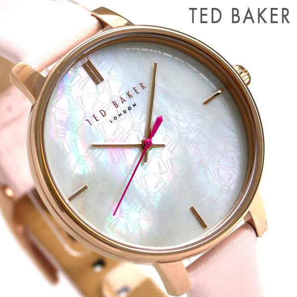 テッドベーカー レディース 腕時計 リボン ホワイトシェル TE50272006 TED BAKER ケイト 38mm 時計【あす楽対応】