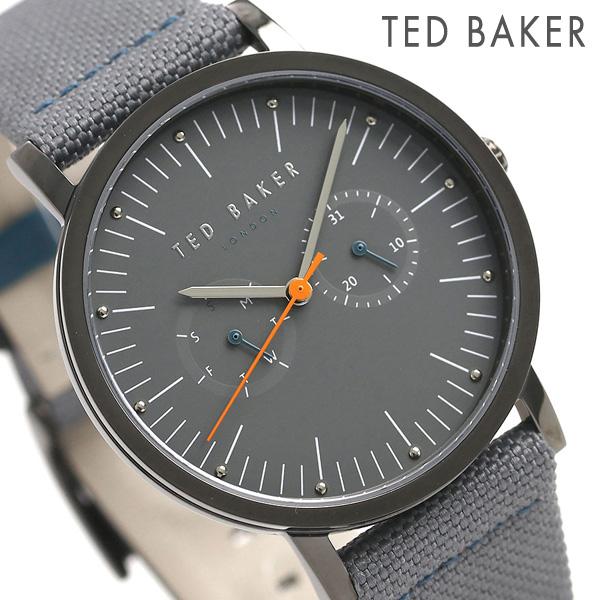 テッドベーカー メンズ 腕時計 カレンダー 革ベルト TE50274004 TED BAKER ブリット 40mm 時計【あす楽対応】