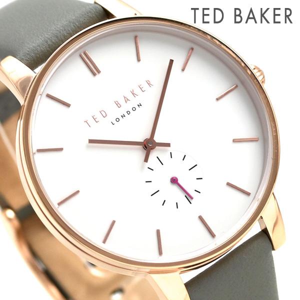 テッドベーカー レディース 腕時計 スモールセコンド 革ベルト TE50310002 TED BAKER オリビア 40mm 時計【あす楽対応】