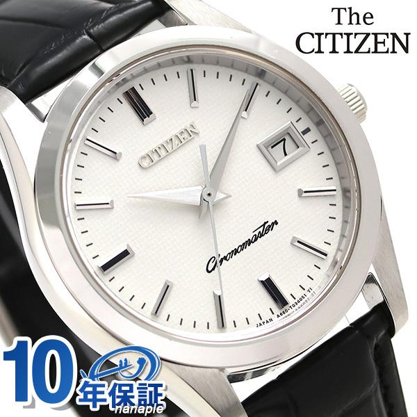 ザ・シチズン クオーツモデル メンズ 腕時計 AB9000-01A THE CITIZEN ホワイト×ブラック 時計