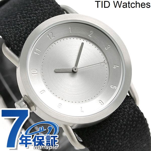TID watches 時計 No.1 トウェインベルト 36mm TID01-36 TW SV/COAL ティッド ウォッチズ 腕時計