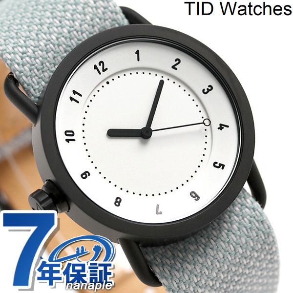 TID watches 時計 No.1 トウェインベルト 36mm TID01-36TW WH/MINERAL ティッド ウォッチズ 腕時計