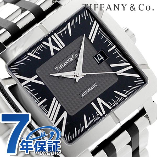 tifaniatorasujientosukuea 42mm自动卷人手表Z1100.70.12A10A00A TIFFANY&Co. 黑色金属皮带新货