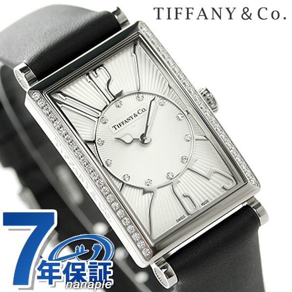【25日は全品5倍でポイント最大22倍】 ティファニー ギャラリー 22mm ダイヤモンド Z3001.10.10E21C68A TIFFANY&Co. 腕時計 ブラック 新品 時計