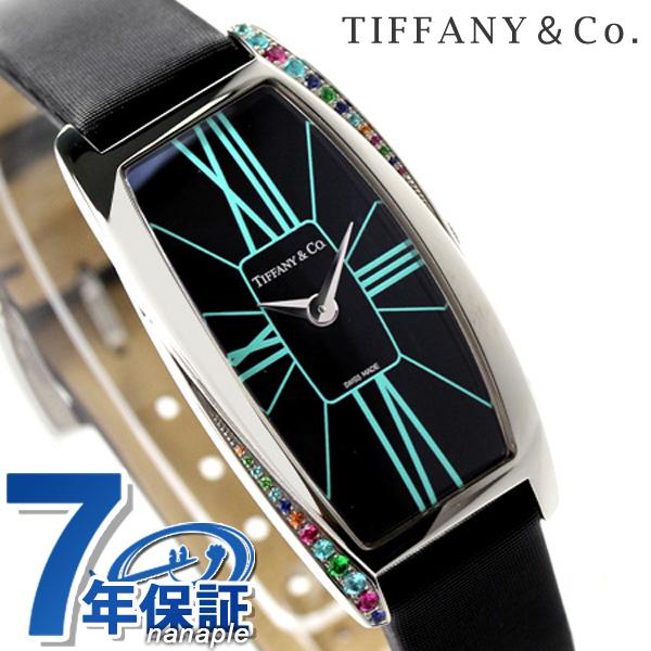 ティファニー ジェメア 腕時計 ラージ 新品 22mm カラージュエル レディース 腕時計 Z6401.10.10G19A40G ブラック TIFFANY&Co. クオーツ ブラック サテンレザー 新品, 古着のオーバーフロークロージング:423c9e33 --- infinnate.ro
