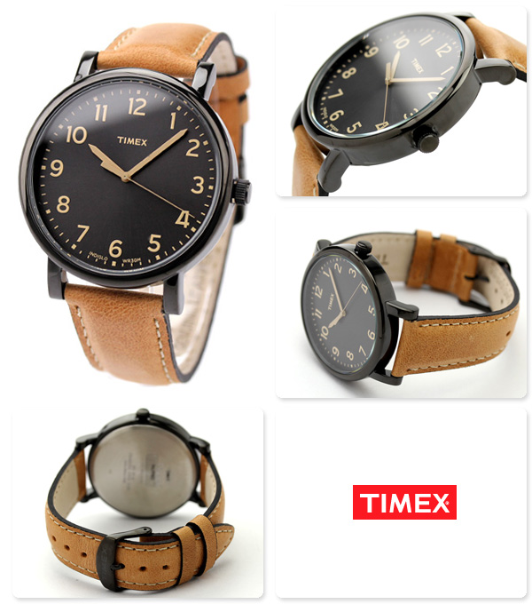 TIMEX military Timex watch modishness easy leader black T2N677