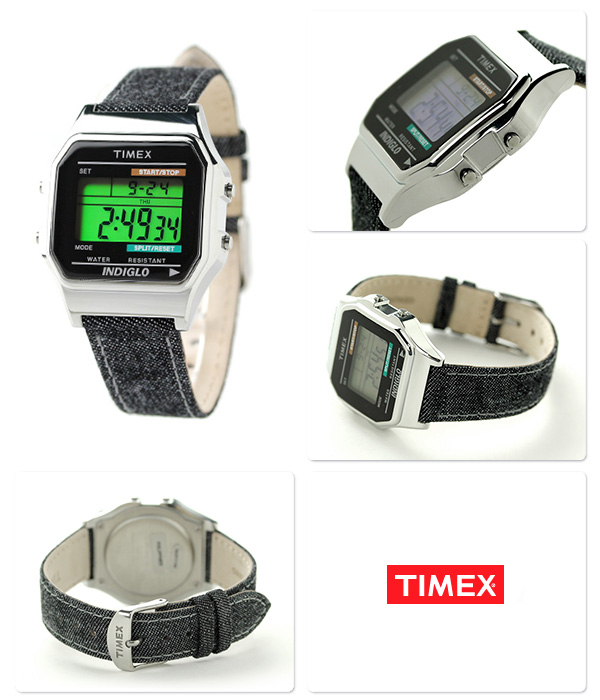 Timex Timex 80 denim men watch TW2P77100 TIMEX black