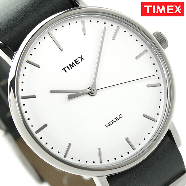 タイメックス ウィークエンダー フェアフィールド 41mm TW2P91300 TIMEX 腕時計 ホワイト×グレー