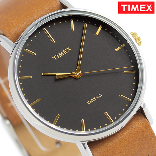 タイメックス ウィークエンダー フェアフィールド 41mm TW2P97900 TIMEX 腕時計 ブラック 時計