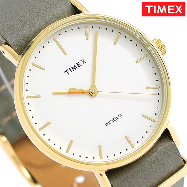 taimekkusuuikuendafeafirudo 41mm TW2P98000 TIMEX手錶奶油